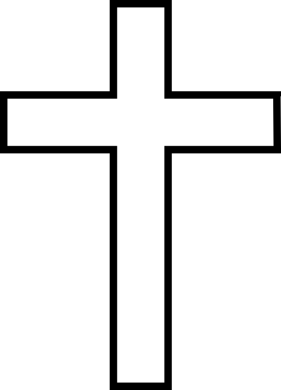 Clipart jesus on a cross picture transparent chrismon-cross-large.png (577×800) The Cross symbolises that ... picture transparent