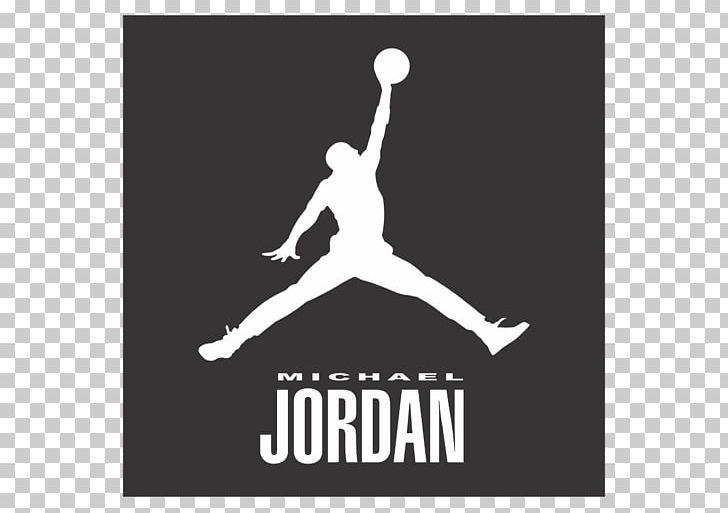 Black and white clipart jordan picture transparent stock Jumpman Air Jordan Chicago Bulls Nike Logo PNG, Clipart, Air Jordan ... picture transparent stock