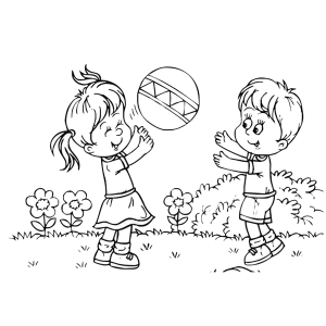 Black and white clipart kids playing clip stock Kids playing black and white clipart images gallery for free ... clip stock
