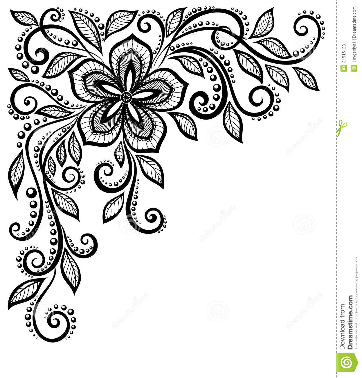 Black and white clipart lace picture freeuse Lace Clipart | Free download best Lace Clipart on ClipArtMag.com picture freeuse