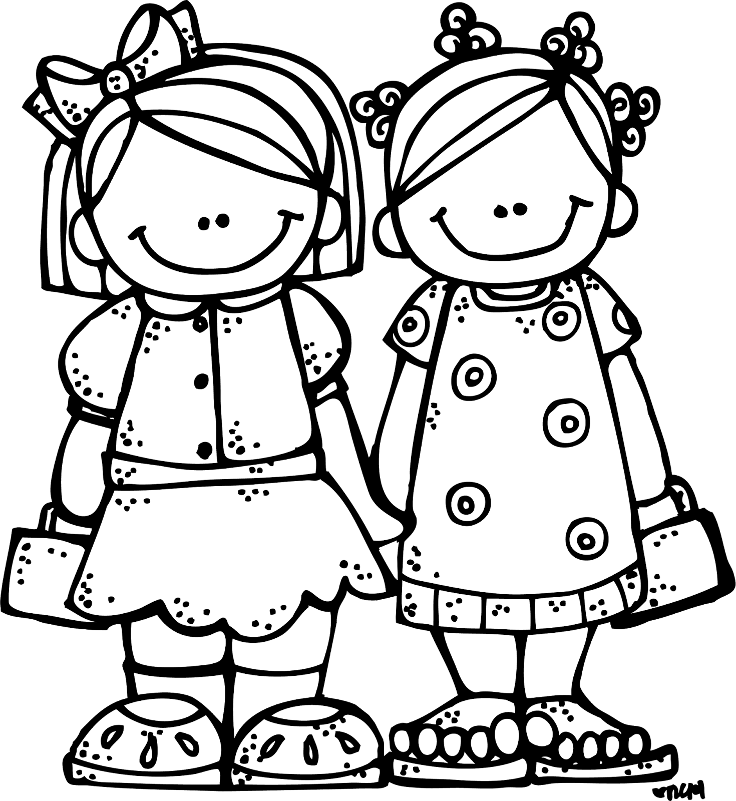 Black and white clipart lds children all around the world jpg black and white download Several drawings of children can be found here - Melonheadz ... jpg black and white download