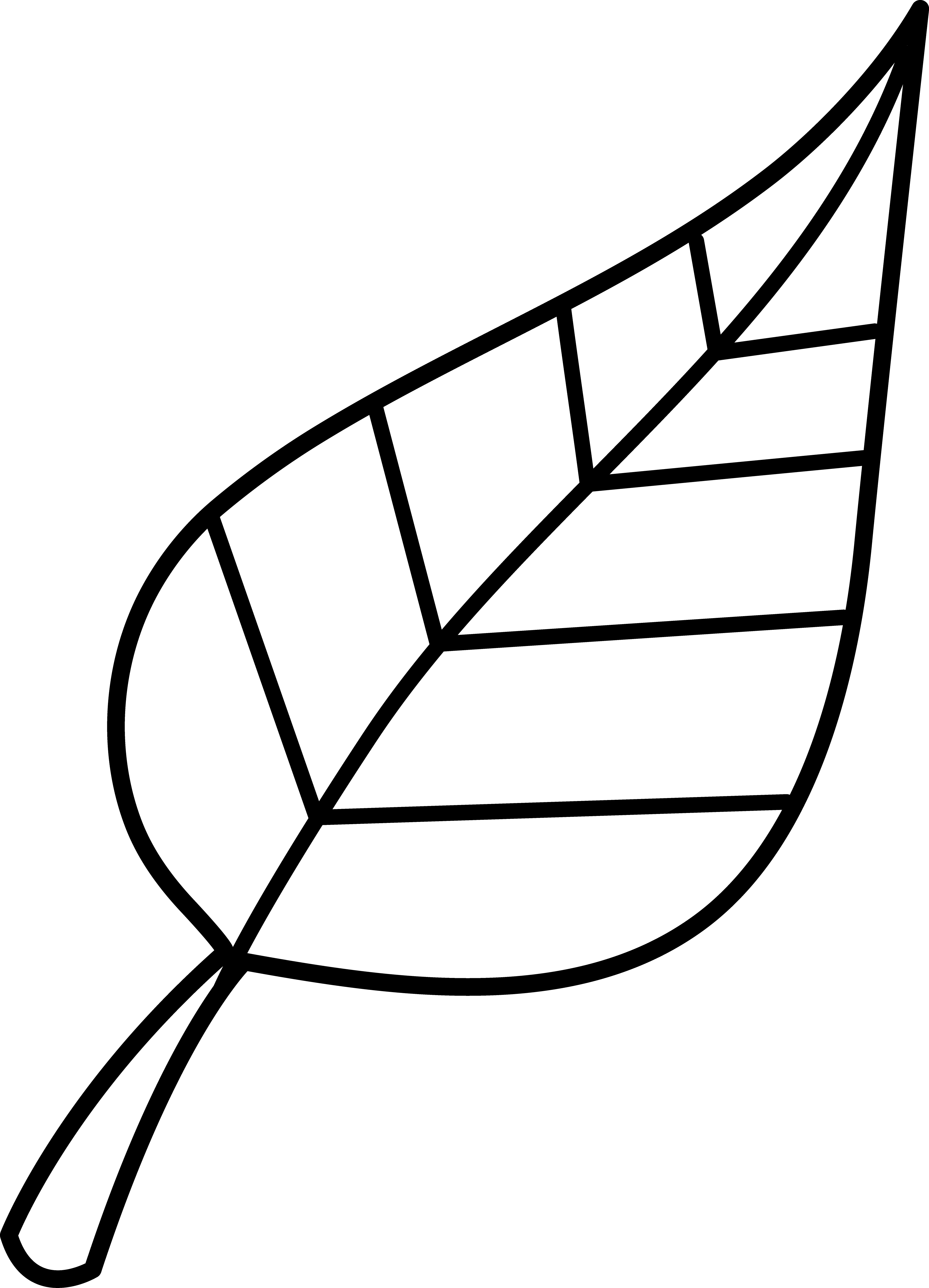 Black and white clipart leaf clip freeuse stock Pin by Emily Clark on Its in the Details | Black, white drawing ... clip freeuse stock