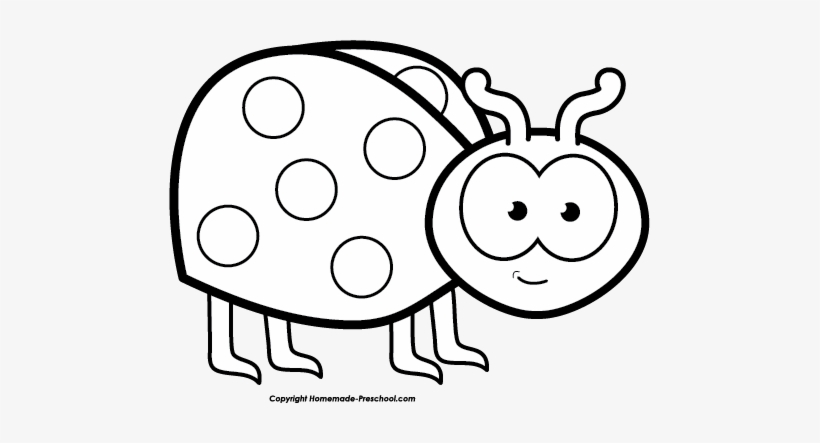 Black and white clipart like banner library Free Ladybug Clipart - Lady Bug Black And White Clip Art PNG Image ... banner library