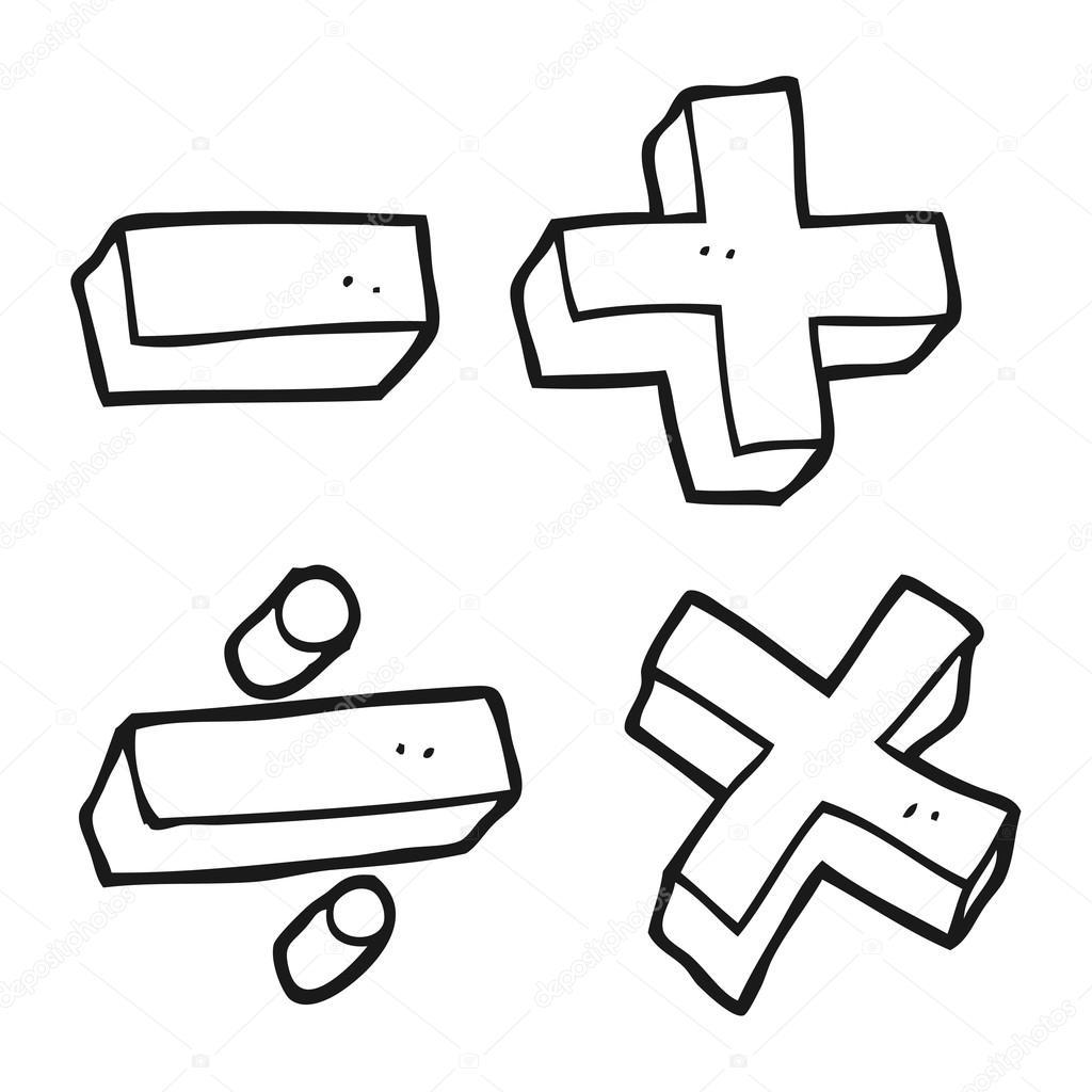 Math symbols clipart black and white jpg transparent library Math Clipart Black And White | Free download best Math Clipart Black ... jpg transparent library