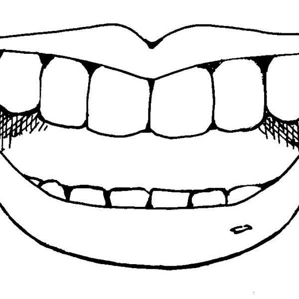 Black and white clipart mouth image freeuse download Mouth Black And White Clipart with Smile Mouth Clipart Black And ... image freeuse download