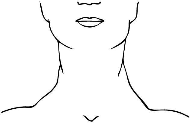 Black and white clipart neck graphic transparent download Neck clipart black and white 1 » Clipart Station graphic transparent download