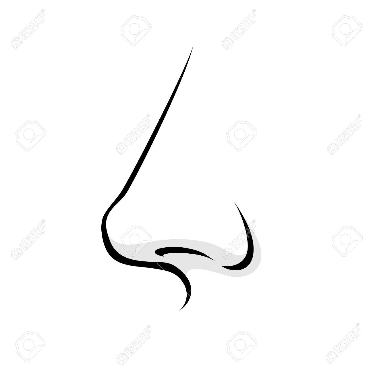 Black and white clipart nose clip art transparent Nose Clipart Black And White | Writings and Essays Corner clip art transparent