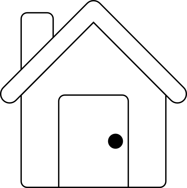 House clipart black and white outline clipart library download House Outline Clipart Black And White | Clipart Panda - Free Clipart ... clipart library download