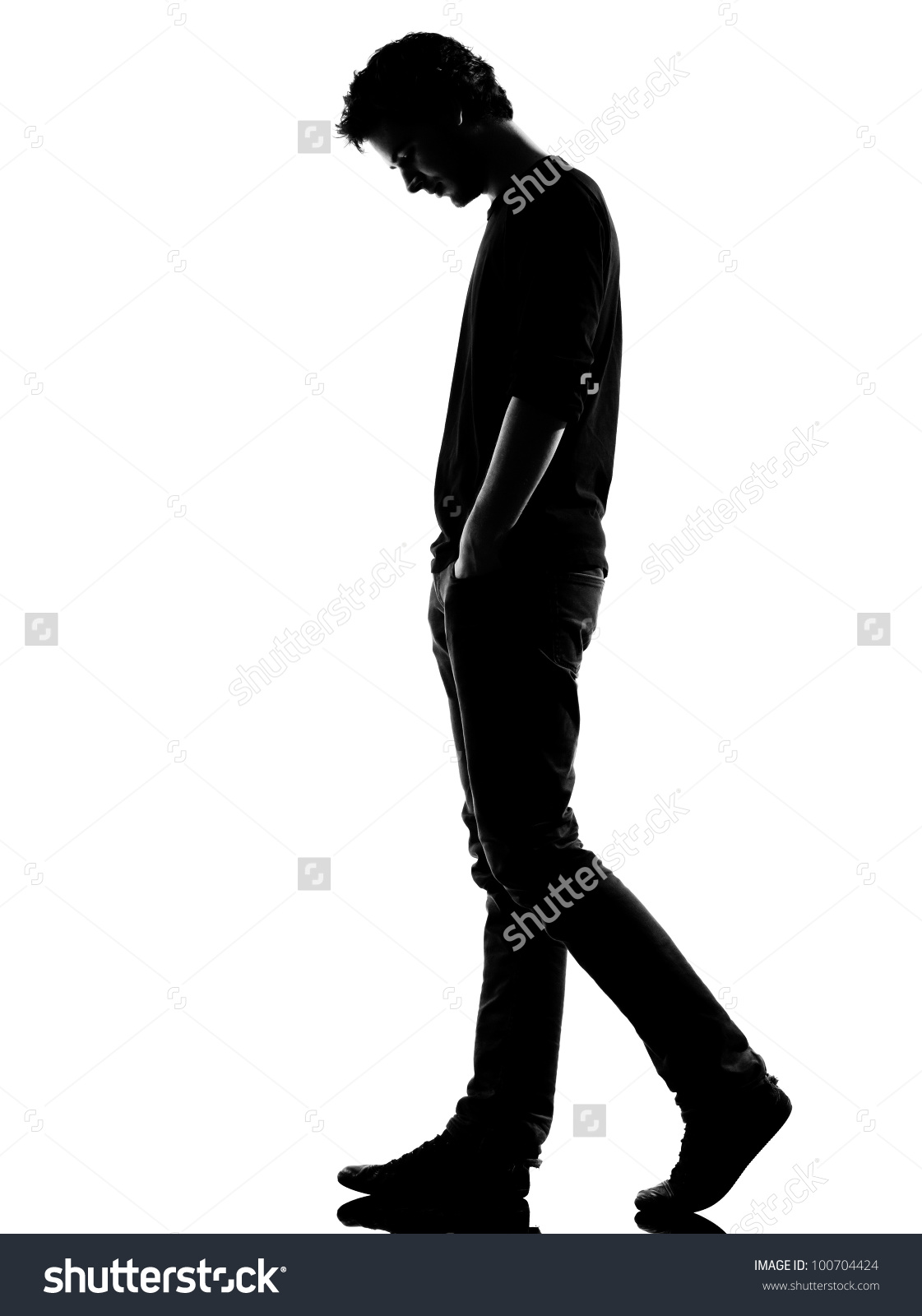 Black and white clipart of a little boy sideways banner black and white library Person Standing Sideways | Free download best Person Standing ... banner black and white library
