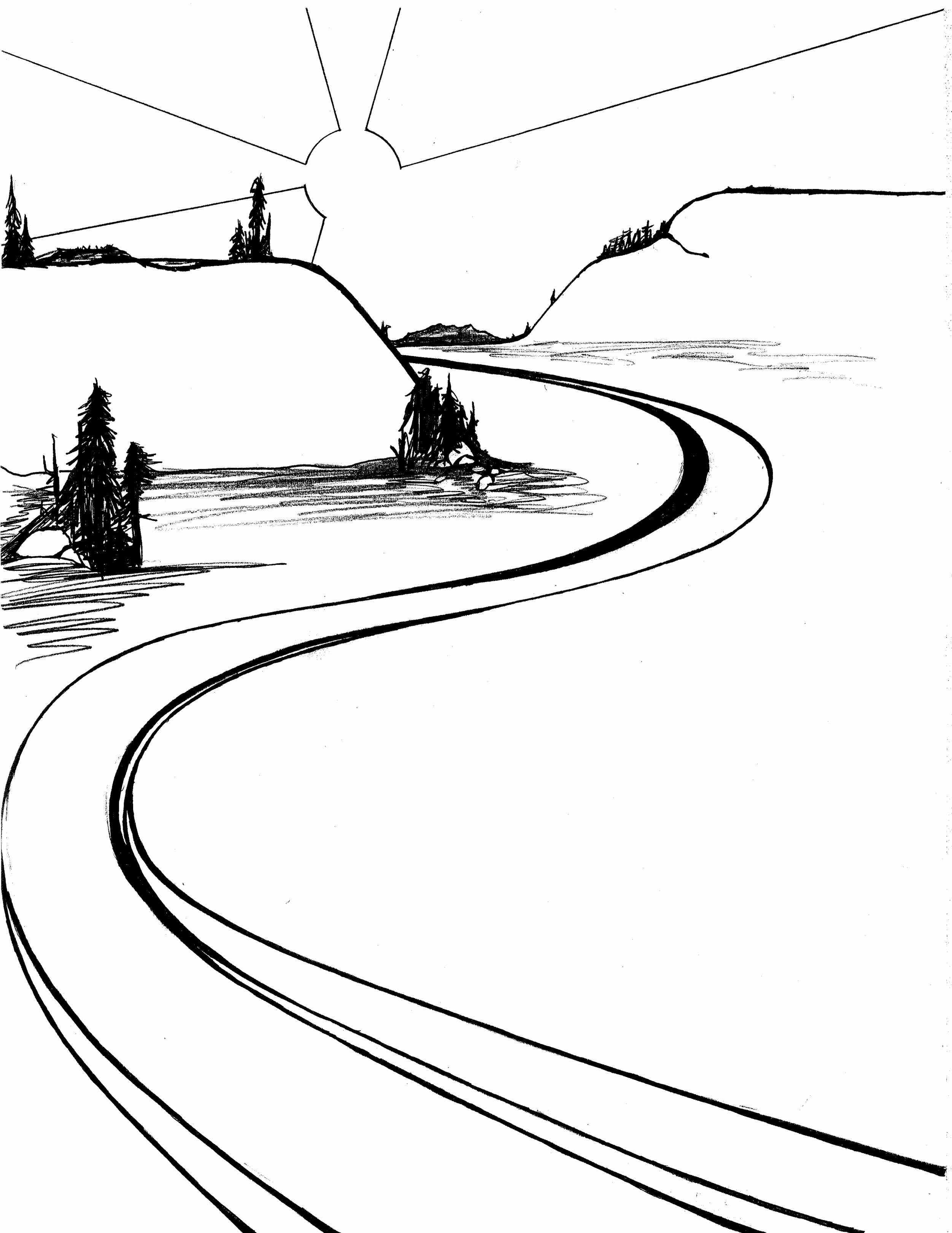 Path clipart black and white - 125 transparent clip arts, images and ... clipart free