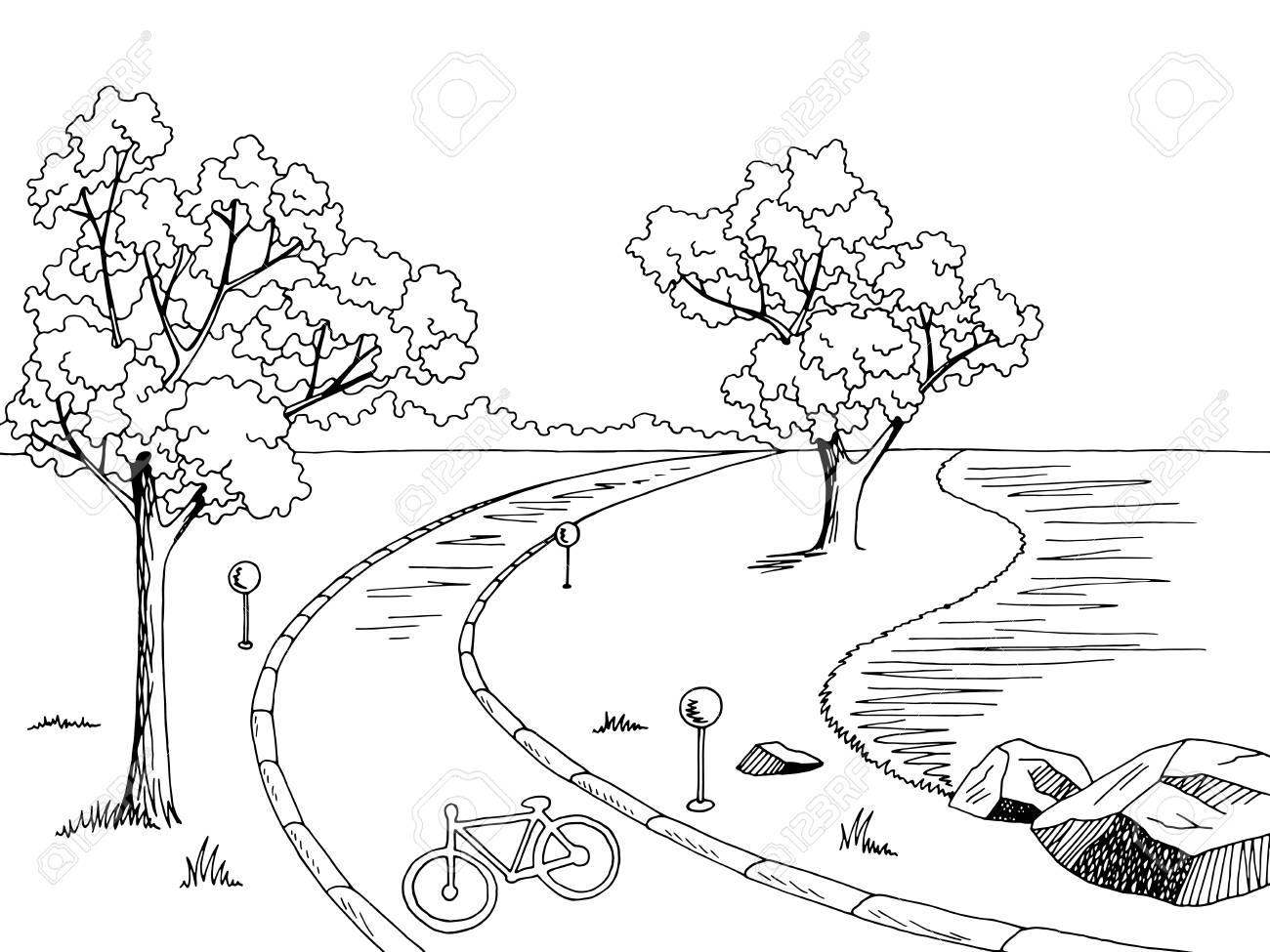 Path clipart black and white 2 » Clipart Station clipart royalty free