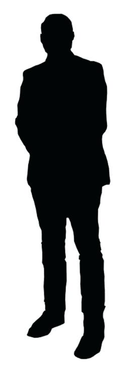 Black and white clipart of a person standing sideways png transparent library person standing clipart – artsoznanie.com png transparent library