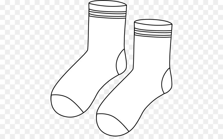 Black and white clipart of a sock banner freeuse download Socks black and white clipart 3 » Clipart Station banner freeuse download