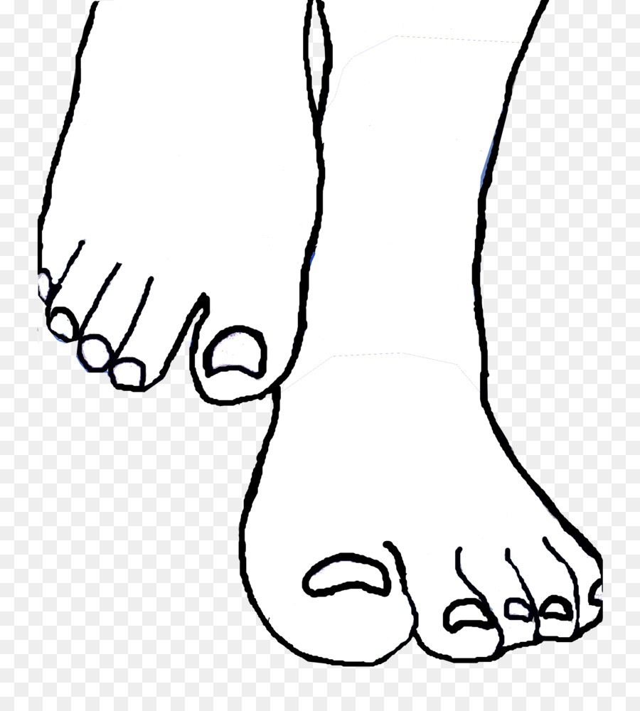 Black and white clipart of a toes jpg black and white download Toes clipart black and white 3 » Clipart Station jpg black and white download