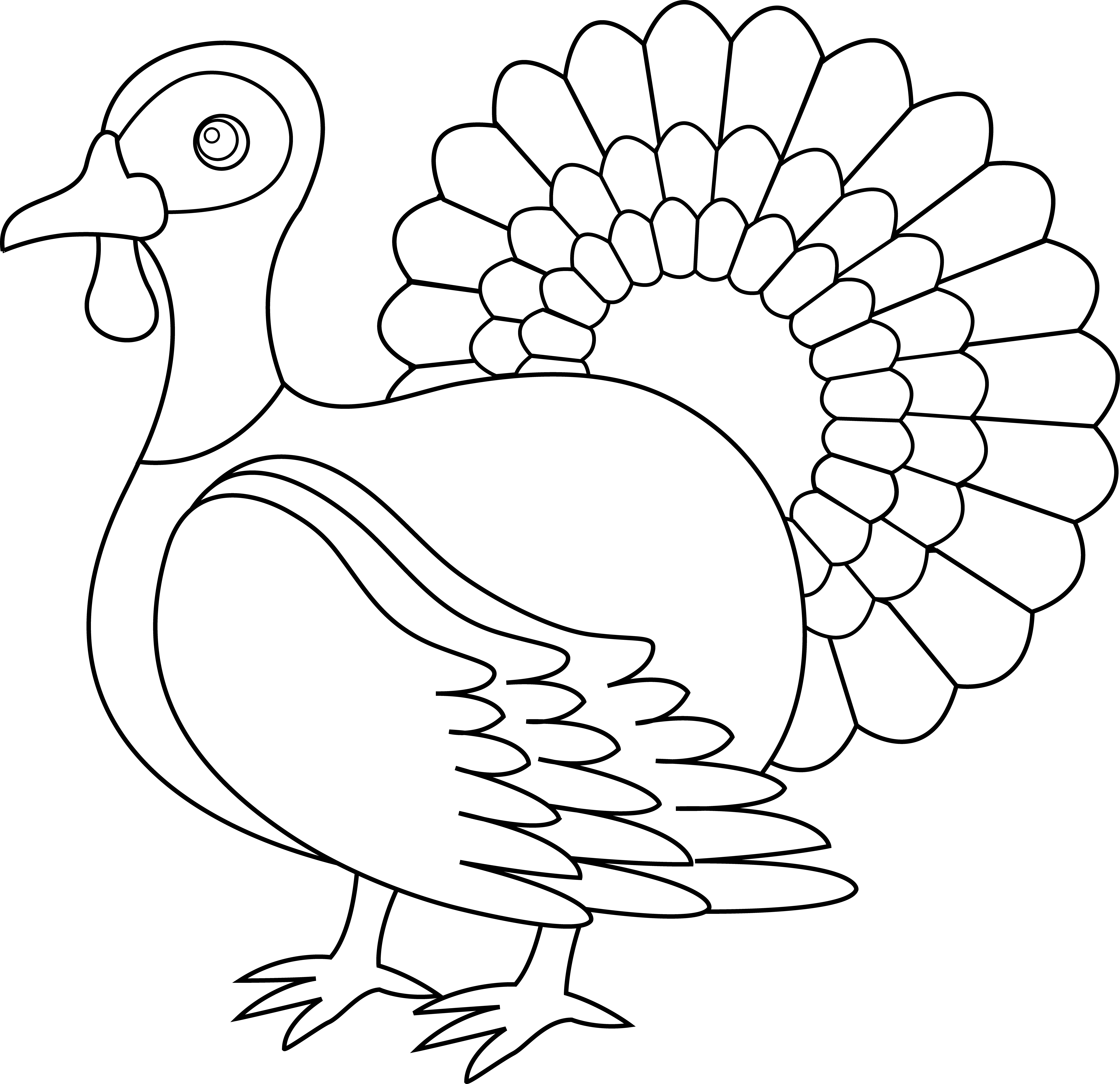 Clipart black and white turkey picture library stock 28+ Collection of Turkey Clipart Png Black And White | High quality ... picture library stock