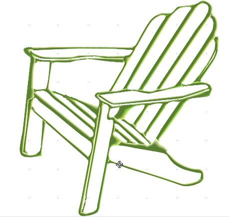 Black and white clipart of adirondack chair jpg freeuse download Free Outdoor Chair Cliparts, Download Free Clip Art, Free Clip Art ... jpg freeuse download