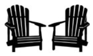 Black and white clipart of adirondack chair graphic transparent download Silhouette Image | cricut | Beach chairs, Adorondack chairs, Chair graphic transparent download