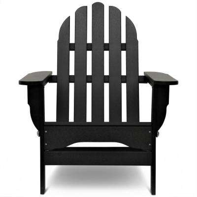 Black and white clipart of adirondack chair banner free Water resistant - Black - Plastic Adirondack Chairs - Adirondack ... banner free