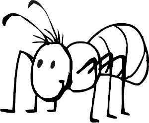 Black and white clipart of an ant jpg free download Ant Clipart Black And White | Clipart Panda - Free Clipart Images jpg free download