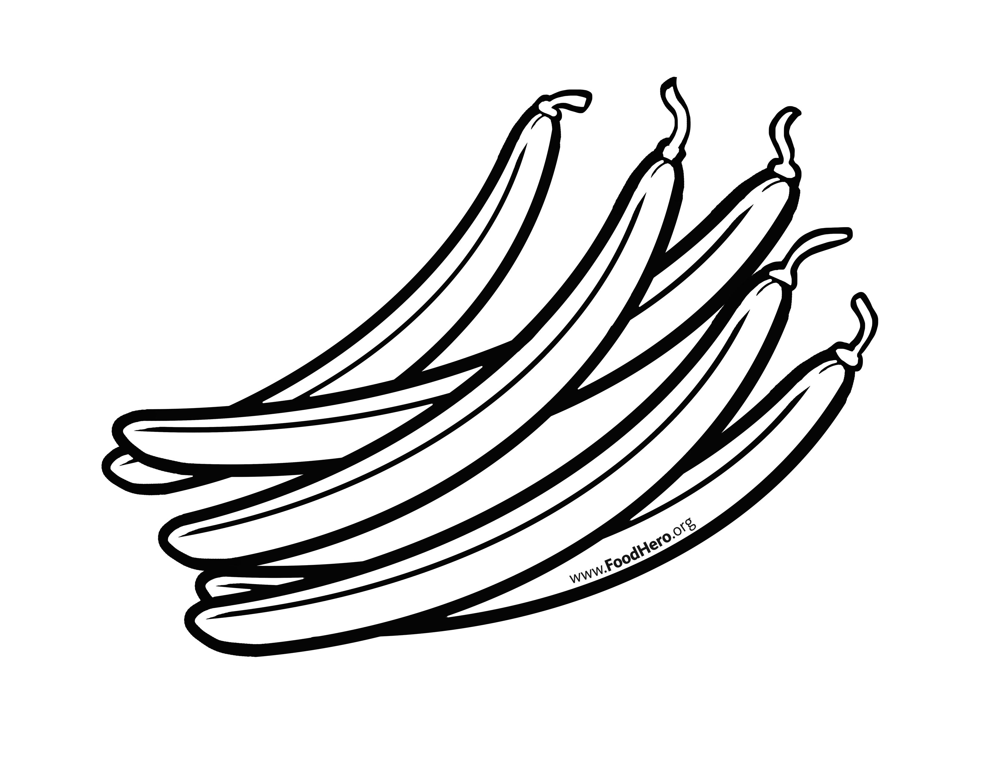 Black and white clipart of black beans image freeuse download String Beans Drawing | Free download best String Beans Drawing on ... image freeuse download