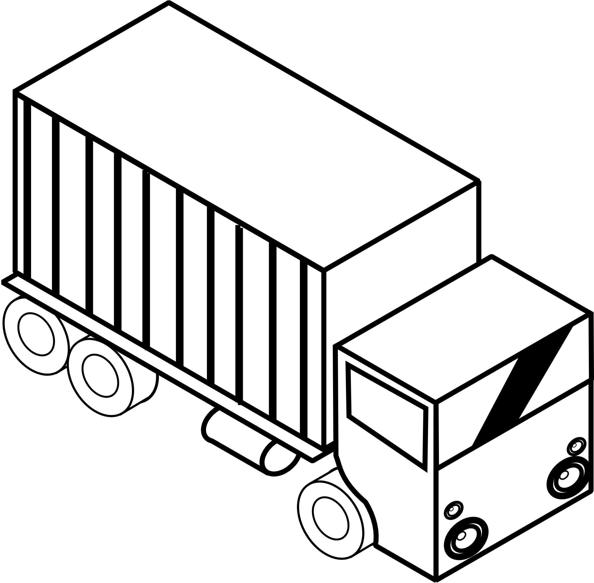 Flatbed train car clipart jpg black and white Truck Clipart Black And White | Clipart Panda - Free Clipart Images jpg black and white