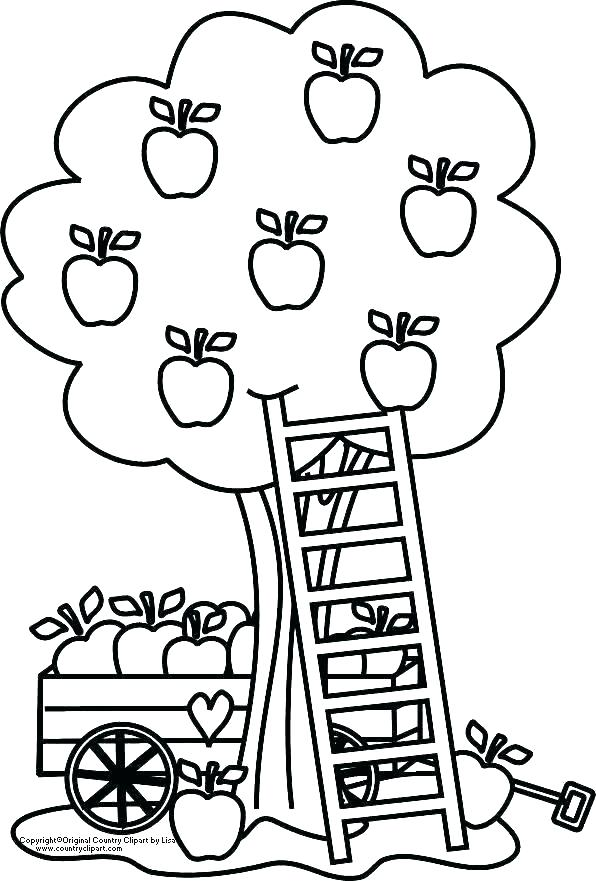 Black and white clipart of children picking apples clip royalty free apples coloring page – indiansnacks.co clip royalty free