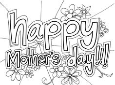 Mother s day christian black and white clipart image library library 71 Best Mothers day coloring sheets images | Preschool, Mother day ... image library library
