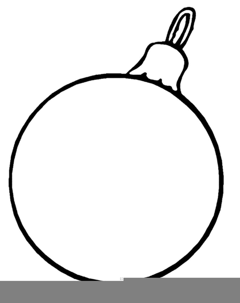 Ornament clipart black and white clip art black and white library Christmas Ornament Black White Clipart | Free Images at Clker.com ... clip art black and white library