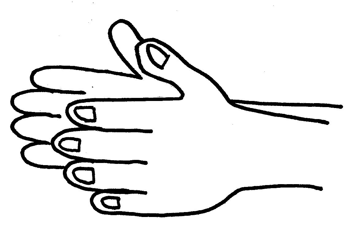 Black and white clipart of clapping hands svg transparent library Clap Clipart | Free download best Clap Clipart on ClipArtMag.com svg transparent library