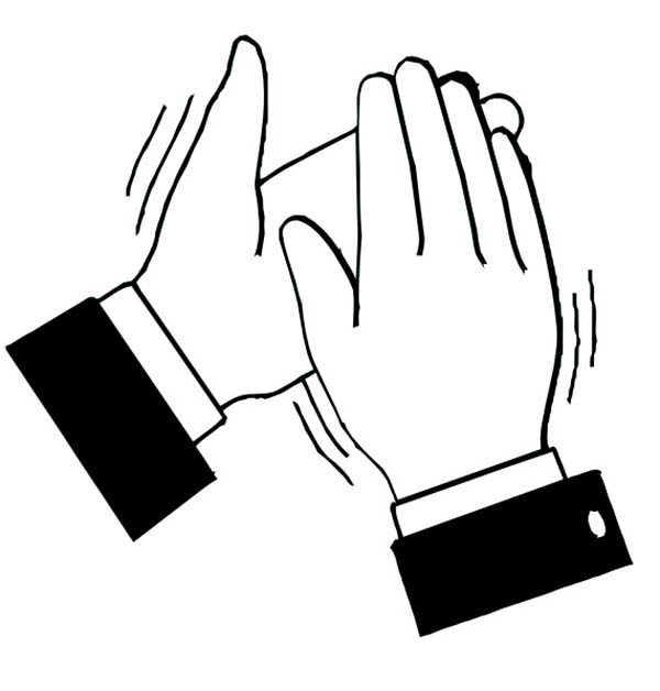 Black and white clipart of clapping hands png free download Free Clapping Hands Cliparts, Download Free Clip Art, Free Clip Art ... png free download
