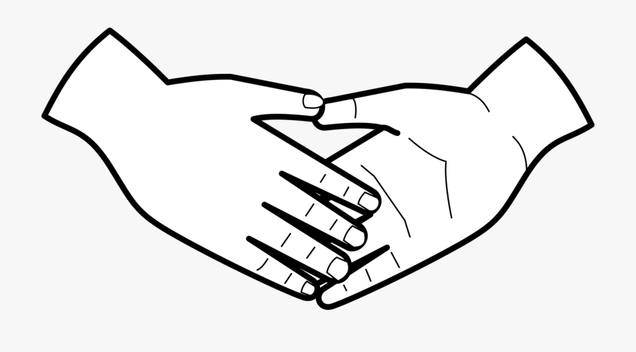 Black and white clipart of holding hands clip art black and white Handshake Holding Hands Computer Icons Drawing - Helping Hand ... clip art black and white