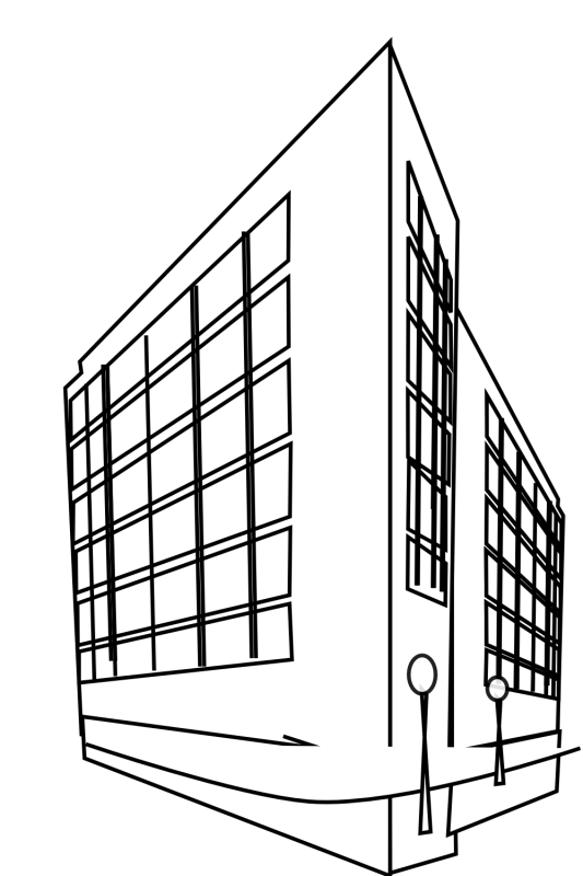 Black and white clipart of house plans clipart royalty free stock Hospital Building Drawing at GetDrawings.com | Free for personal use ... clipart royalty free stock