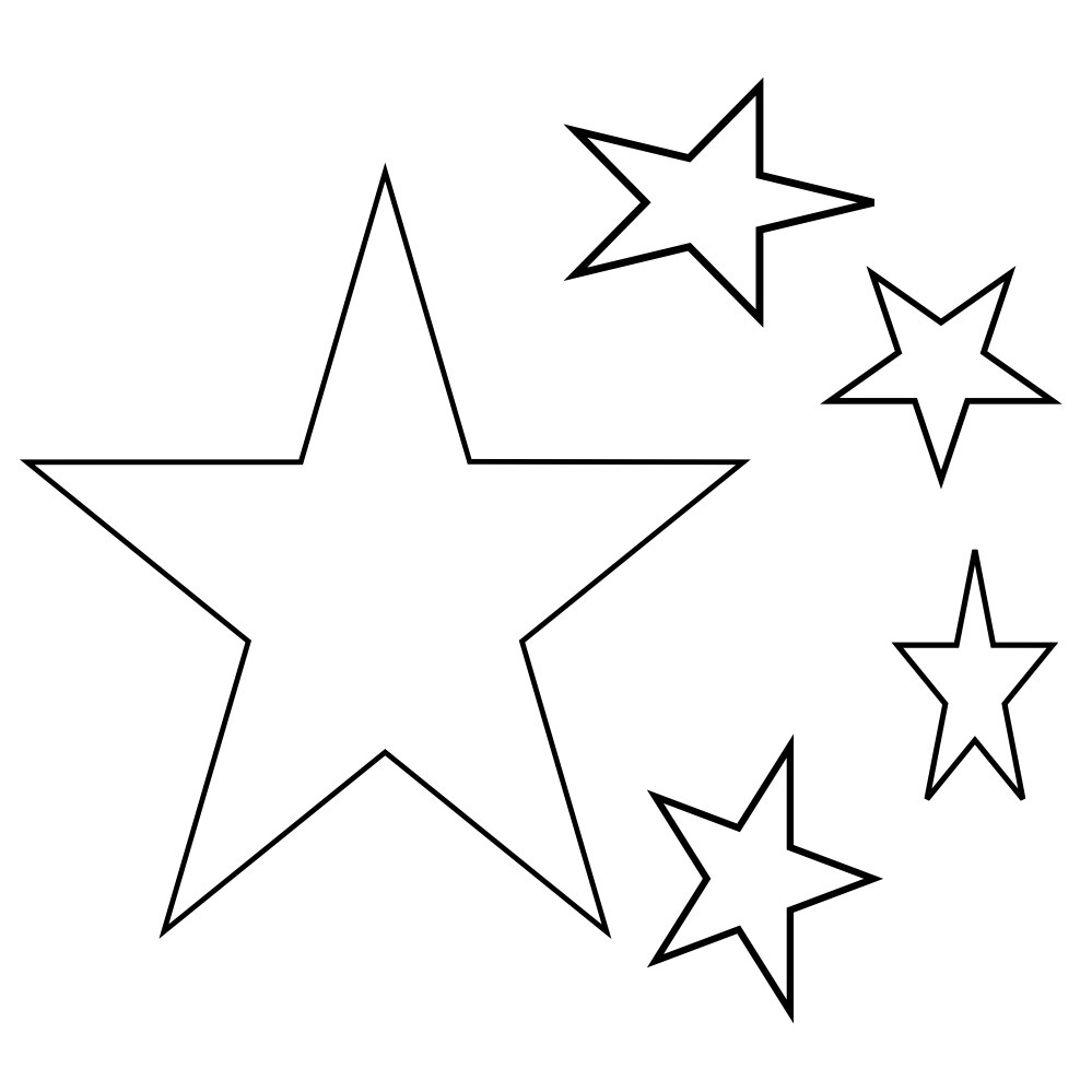 North star clipart black and white svg black and white Star Clipart Black And White - Free Clip Art - Clipart Bay svg black and white