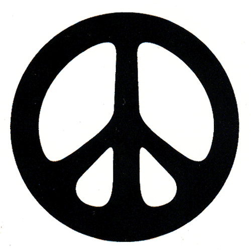 Black and white clipart of peace sign image transparent stock Peace Sign Clip Art Black and White | Homeschool | Peace, Clip art ... image transparent stock