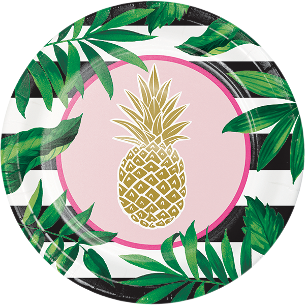Black and white clipart of pineapple good vibes with sun glasses image royalty free download Pineapple Birthday Party Supplies Party Supplies Canada - Open A Party image royalty free download