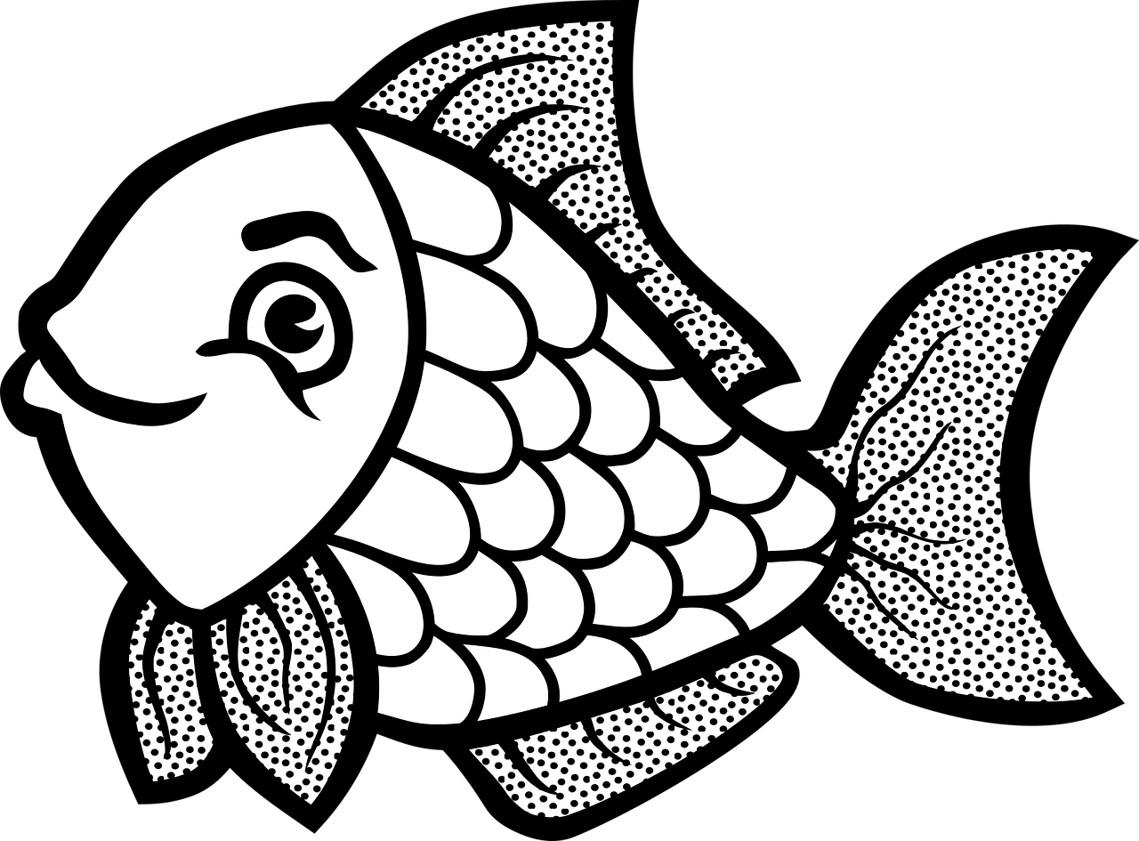 Free clipart of fish coloring pages svg free download 28+ Collection of Easy Fish Coloring Pages | High quality, free ... svg free download