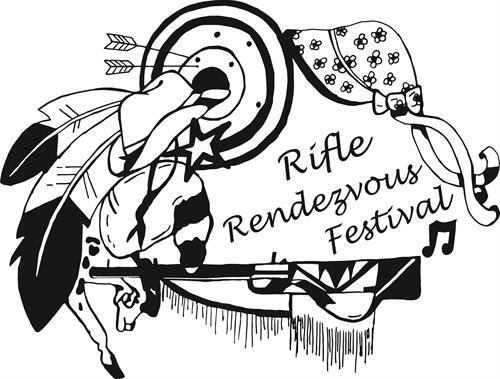 Black and white clipart of rendezvous people graphic free download Rifle Rendezvous Festival Inc - May 15, 2026 - Carbondale Chamber of ... graphic free download