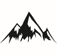Black and white clipart of snow on mountain svg freeuse library Mountain Drawing Black And White | Free download best Mountain ... svg freeuse library