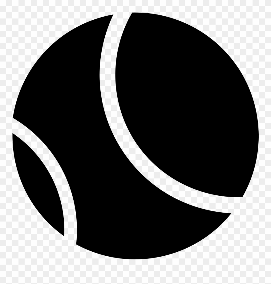Black and white clipart of tennis ball picture library Open - Black And White Tennis Ball Logo Clipart (#3435123) - PinClipart picture library