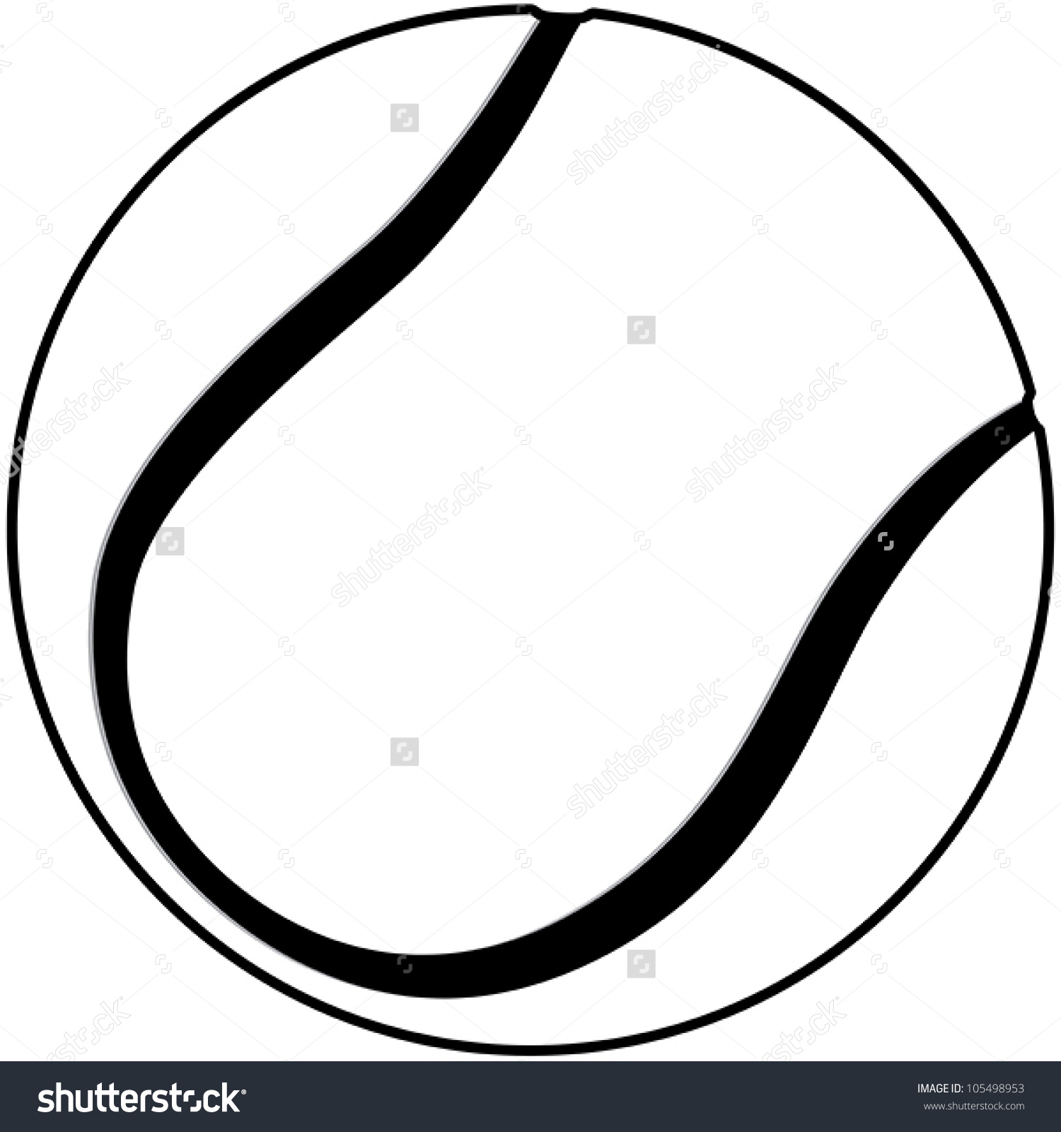 Black and white clipart of tennis ball clip download Tennis Ball Clipart Black And White | Free download best Tennis Ball ... clip download