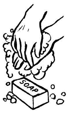 Black and white clipart of washing hands graphic freeuse library Free Washing Hands Cliparts, Download Free Clip Art, Free Clip Art ... graphic freeuse library