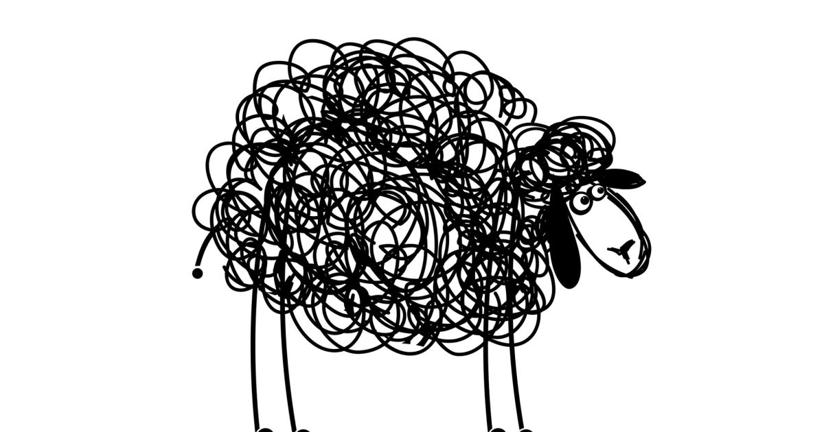 Black and white clipart oops bad word graphic transparent stock Has Israel become the black sheep of the North American Jewish ... graphic transparent stock