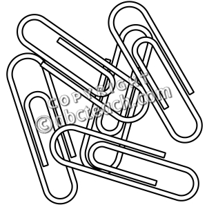 Black and white clipart paperclip clipart free library Paper Clip Clipart Black And White | Clipart Panda – Free Clipart ... clipart free library