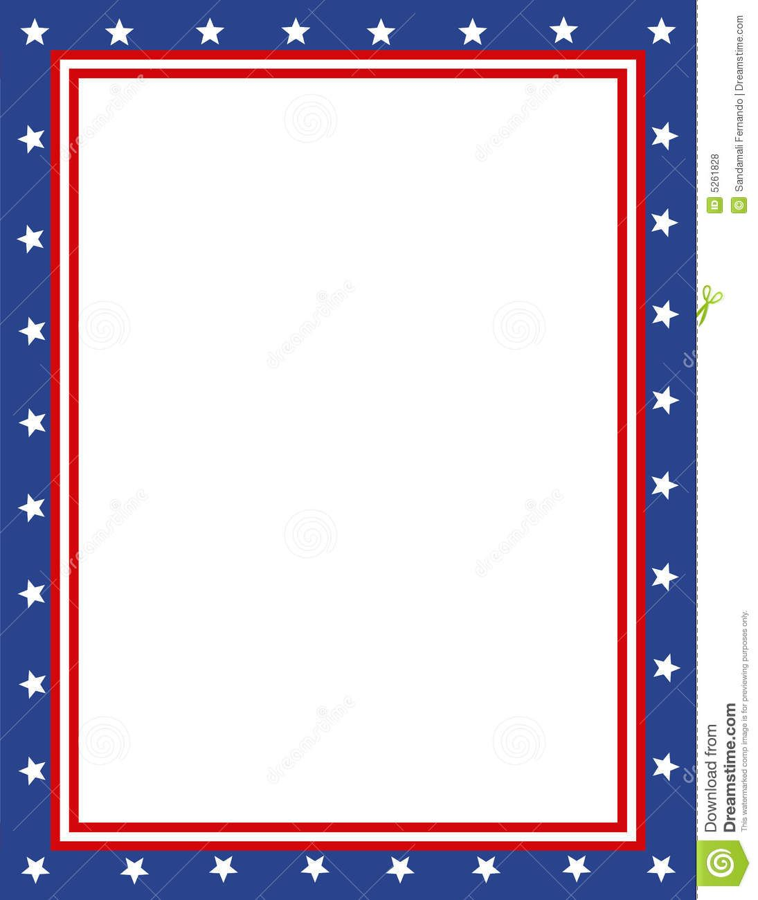 Black and white clipart patriotic single boarder clip art black and white Free Patriotic Page Borders   Patriotic border   borders/frames ... clip art black and white