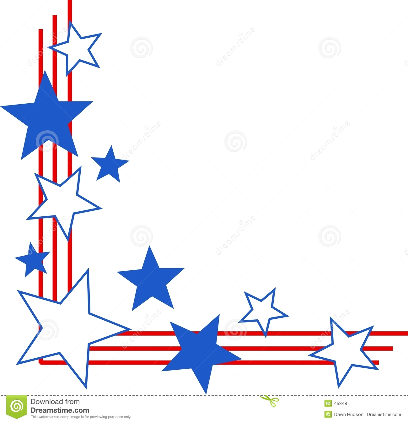 Patriotic star border clipart black and white graphic freeuse library Ocean Border Clipart | Free download best Ocean Border Clipart on ... graphic freeuse library