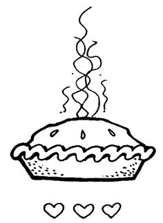 Ham and pie clipart black and white banner black and white Free Pie Clip Art, Download Free Clip Art, Free Clip Art on Clipart ... banner black and white