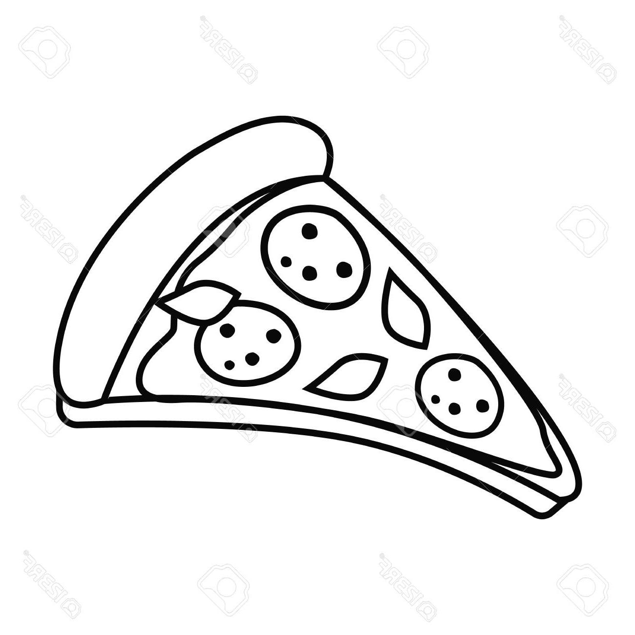 Free clipart pizza black and white picture transparent download Best Free Vector Black And White Pizza Library » Free Vector Art ... picture transparent download