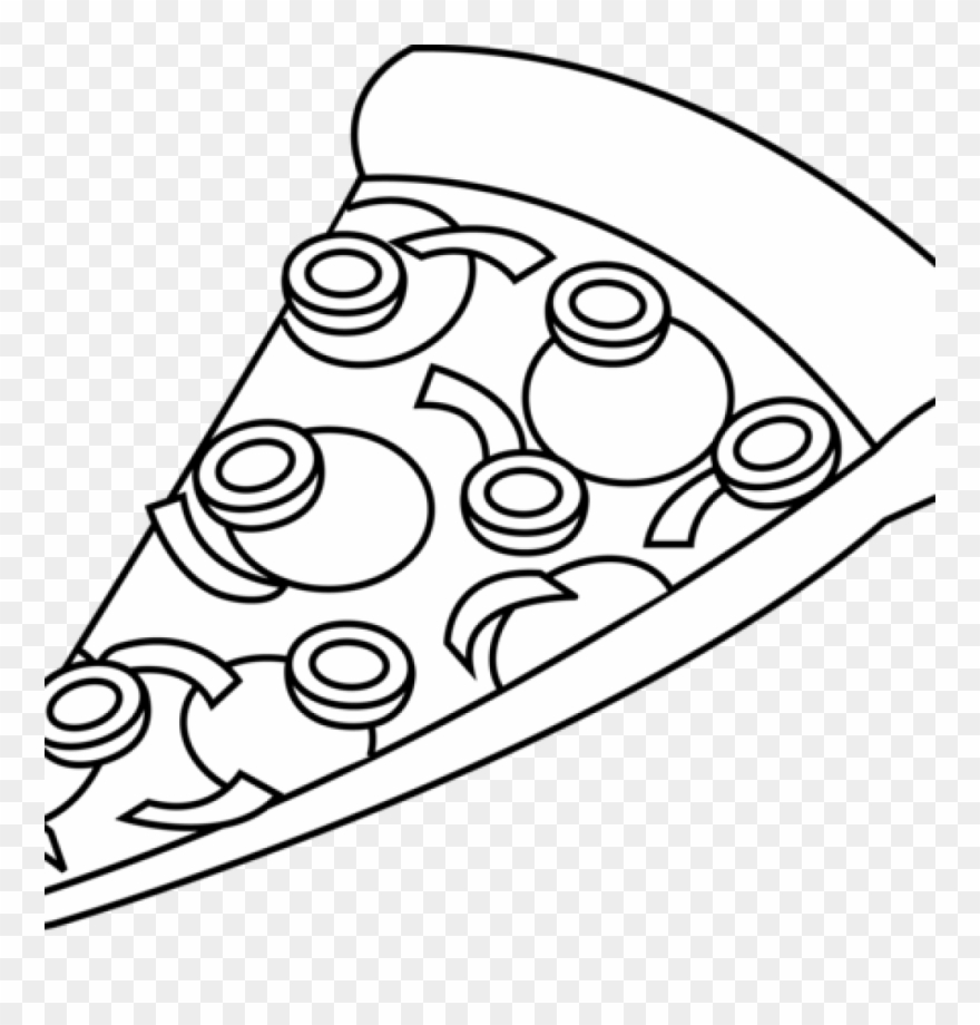To order pizza clipart black and white royalty free Gallery Of Kisspng Pizza Black And White Clip Art Food - Pizza Slice ... royalty free