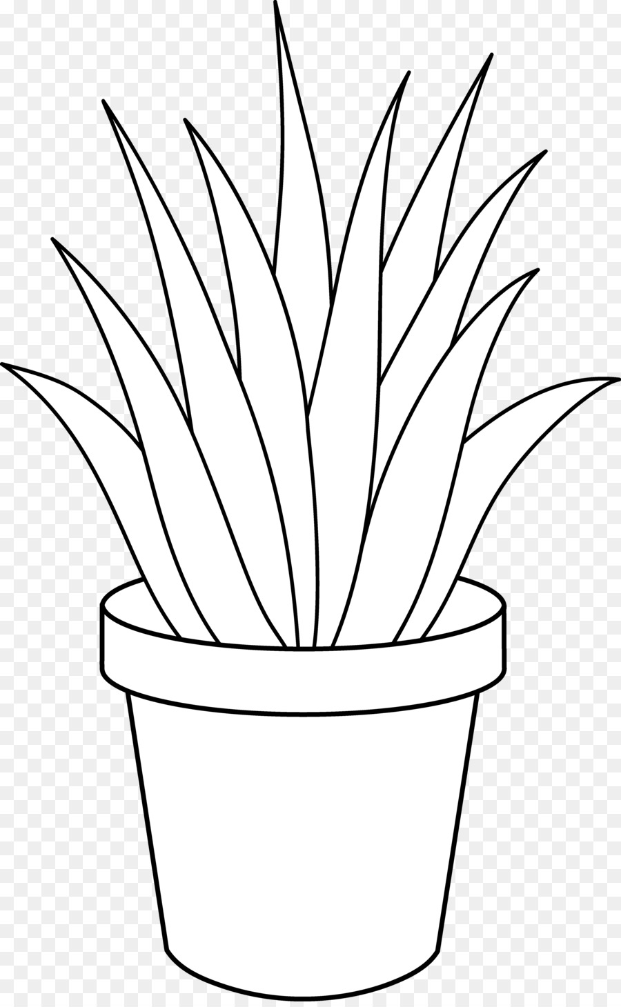 Black and white clipart plant clip library download Plant black and white clipart 4 » Clipart Station clip library download
