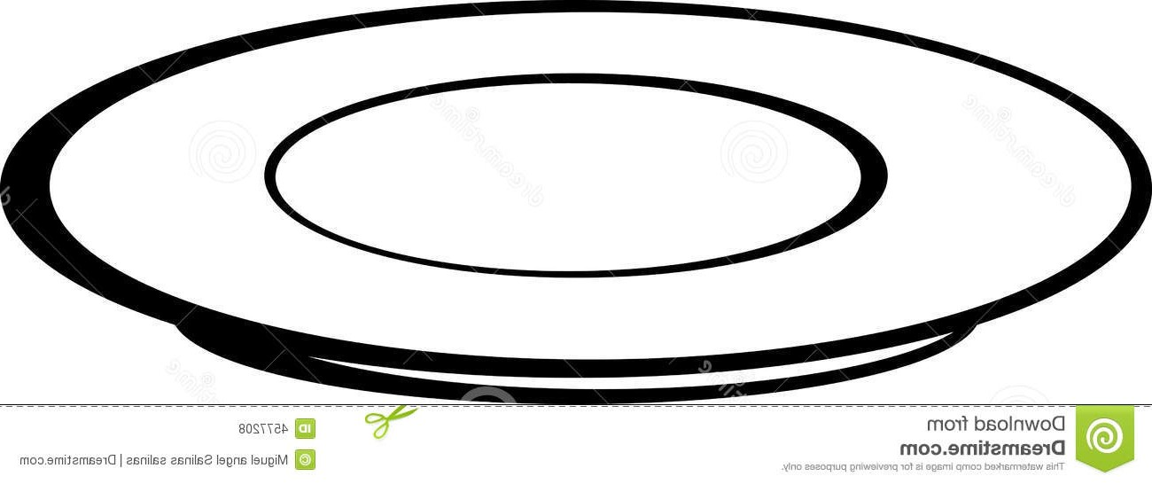 Glass plate clipart banner library download Plate Clipart Black And White | Free download best Plate Clipart ... banner library download